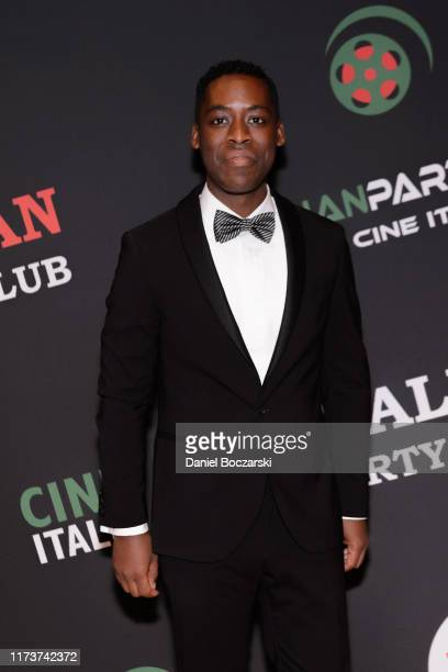 Jaze Bordeaux attends the Italian Party Club at TIFF 2019 at Artscape Daniels on September 10 2019 in Toronto Canada