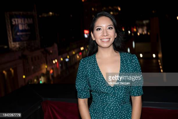 Jazmin Cortes arrives at 17th Annual Oscar-Qualifying HollyShorts Film Festival Opening Night at Japan House Los Angeles on September 23, 2021 in Los...