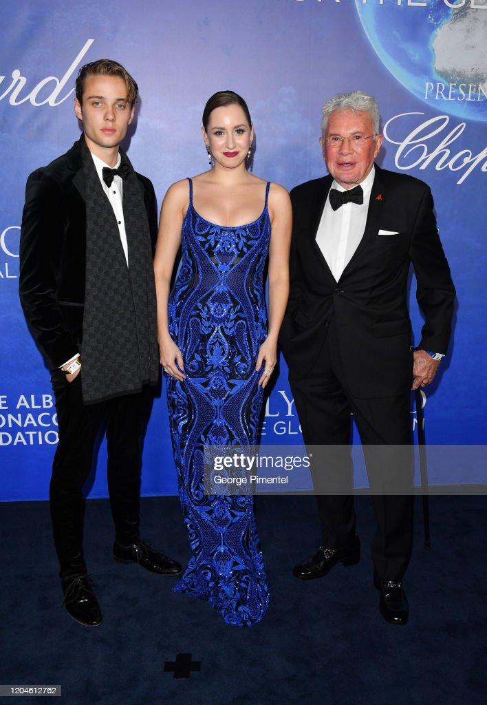 2020 Hollywood For The Global Ocean Gala Honoring HSH Prince Albert II Of Monaco - Arrivals : Nieuwsfoto's
