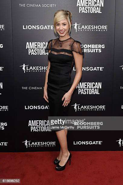 Jazmin Grace Grimaldi attends a screening of 'American Pastoral' hosted by Lionsgate Lakeshore Entertainment and Bloomberg Pursuits at Museum of...