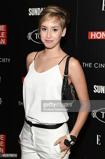 Jazmin Grace Grimaldi attends Sundance TV's 'The Honourable Woman' screening hosted by The Cinema Society with Tod's And Elle at the Crosby Street...