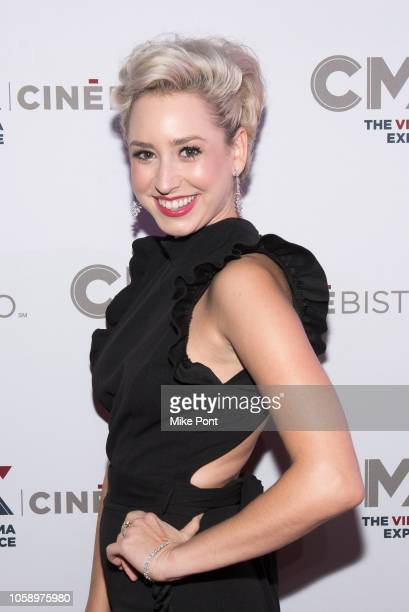 "Jazmin Grace Grimaldi attends the opening of CMX CineBistro with special screenings of ""BlacKkKlansman,"" ""City Lights,"" & ""Pretty Baby"" at CMX..."