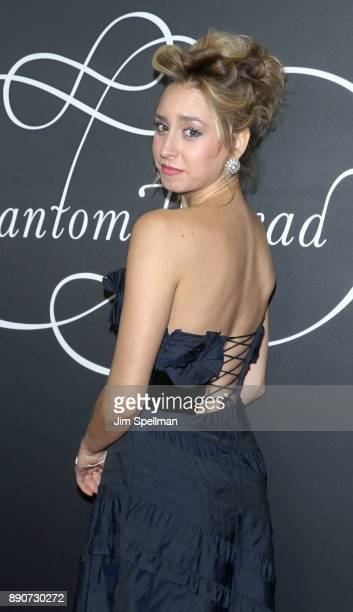 Jazmin Grace Grimaldi attends the 'Phantom Thread' New York premiere at Harold Pratt House on December 11 2017 in New York City