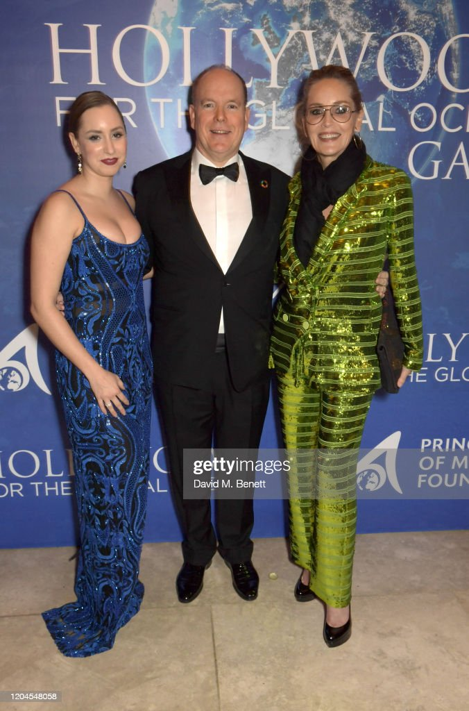2020 Hollywood For The Global Ocean Gala Honoring HSH Prince Albert II Of Monaco - Drinks Reception : News Photo