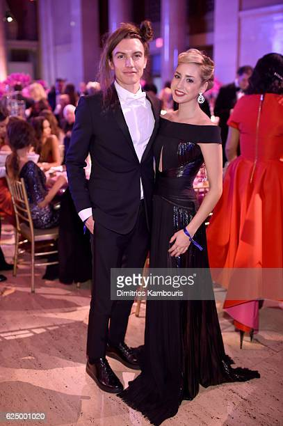 Jazmin Grimaldi and Ian Mellencamp attend the 2016 Angel Ball hosted by Gabrielle's Angel Foundation For Cancer Research on November 21 2016 in New...