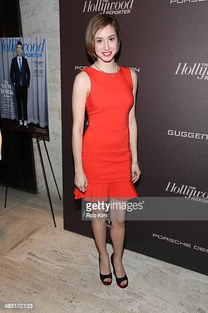 Jazmin Grimaldi attends The Hollywood Reporter 35 Most Powerful People In Media Celebration at The Four Seasons Restaurant on April 16 2014 in New...