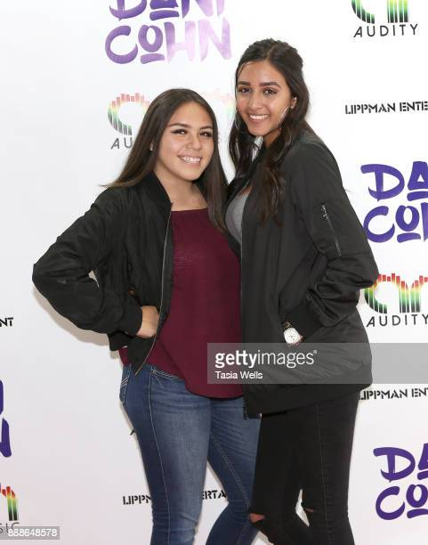 Jazmin Lopez and Vanessa Ramirez at Dani Cohn's Single Release Party for #FixYourHeart on December 8 2017 in Burbank California