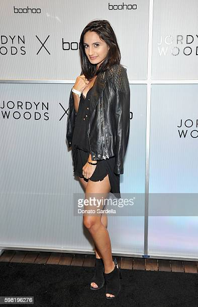 Jazmin Whitley attends Boohoo X Jordyn Woods Launch Event at NeueHouse Hollywood on August 31 2016 in Los Angeles California