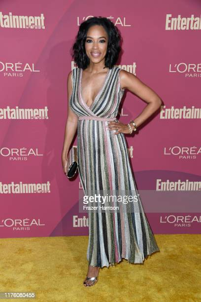 Jazmyn Simon attends the 2019 Entertainment Weekly Pre-Emmy Party at Sunset Tower on September 20, 2019 in Los Angeles, California.