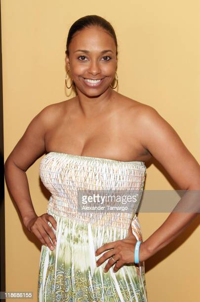 Jazsmin Lewis attends the gmc TV Screenplay Competition Table Read Rehearsal at ABFF at Ritz Carlton South Beach on July 7 2011 in Miami Beach Florida