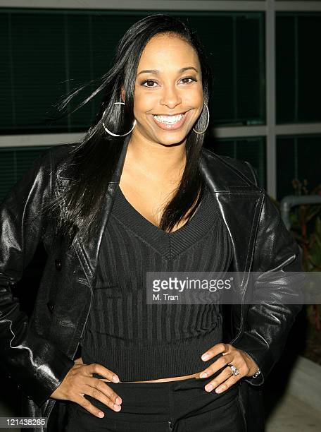 Jazsmin Lewis during The Boyle Heights Music and Arts Program Launch Arrivals at Boyle Heights School in Los Angeles California United States