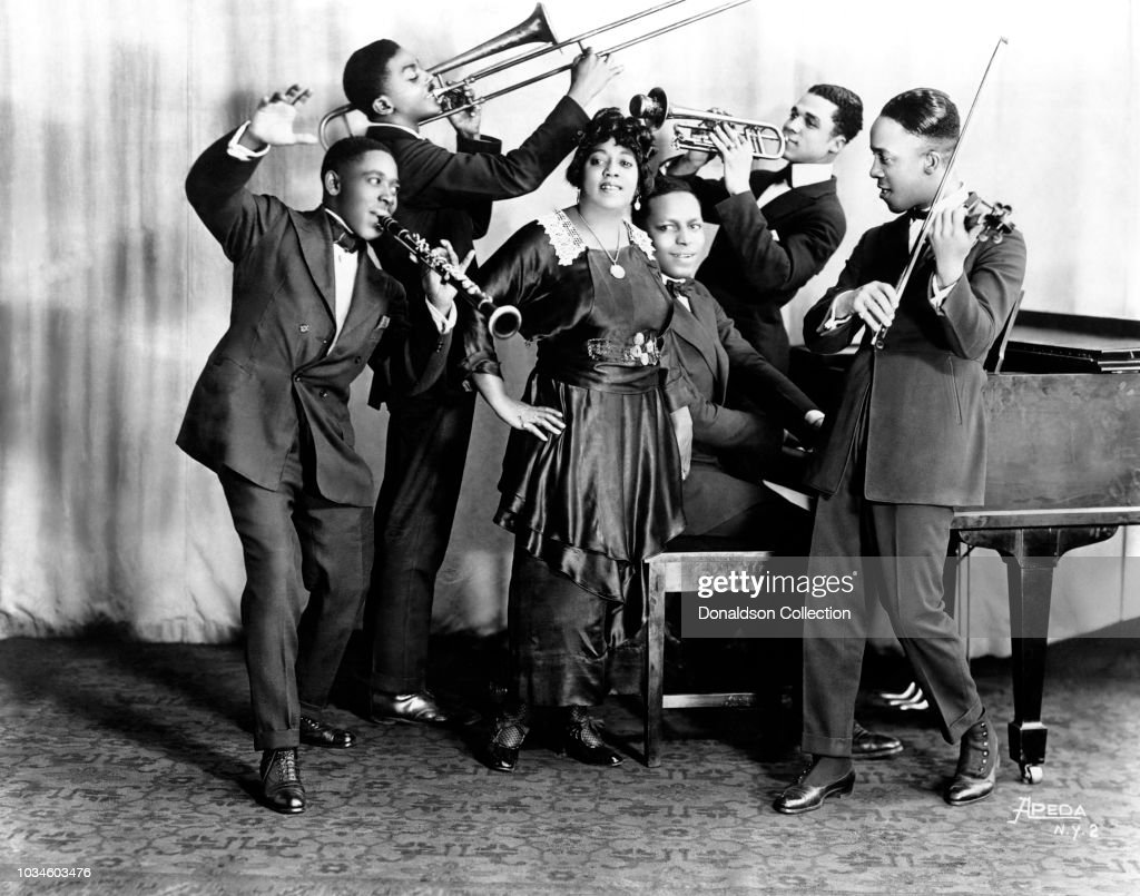 Mamie Smith And Her Jazz Hounds : ニュース写真