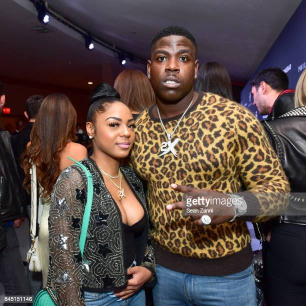 Jazz and rapper Casanova attend the Philipp Plein fashion show during New York Fashion Week The Shows at Hammerstein Ballroom on September 9 2017 in...