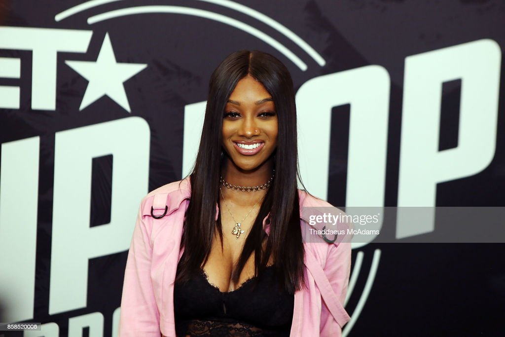 Jazz Anderson attends BET Hip Hop Awards 2017 on October 6, 2017 in Miami Beach, Florida.