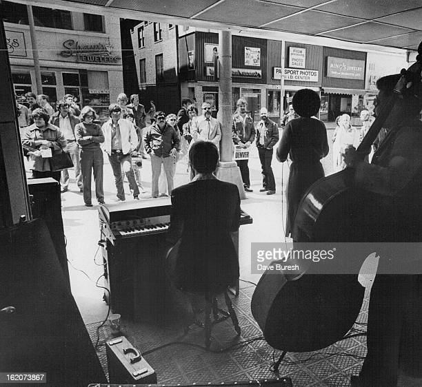 APR 10 1980 APR 11 1980 Jazz Band Draws Fans To Downtown Mall Week Jazz fans gather in the 500 block of 16th Street during their lunch hour Thursday...