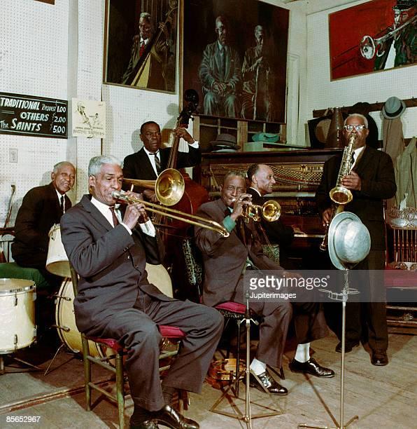 Jazz band , New Orleans , Louisiana , USA