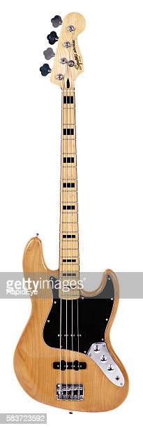 Jazz Bass guitar from Fender's lower-priced Squier line