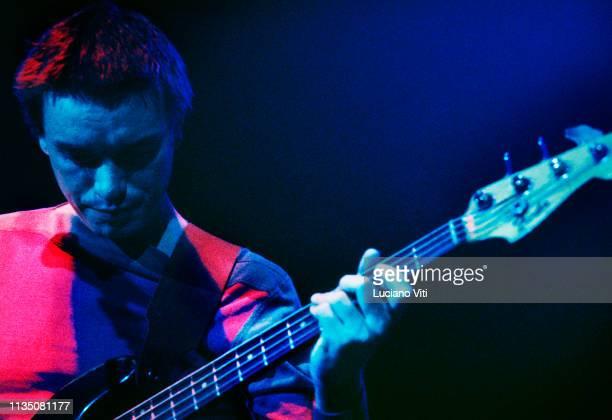 Jazz bassist Jaco Pastorius, Rome, Italy, 1986.