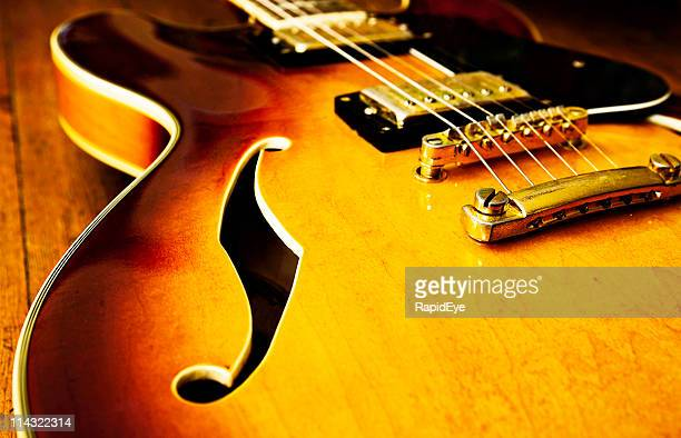 jazz blues guitar - blues music stock pictures, royalty-free photos & images