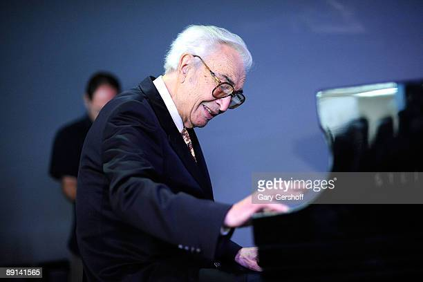 Jazz composer and pianist Dave Brubeck attends An Evening of Performance and Conversation at the Apple Store Soho on July 21, 2009 in New York City.
