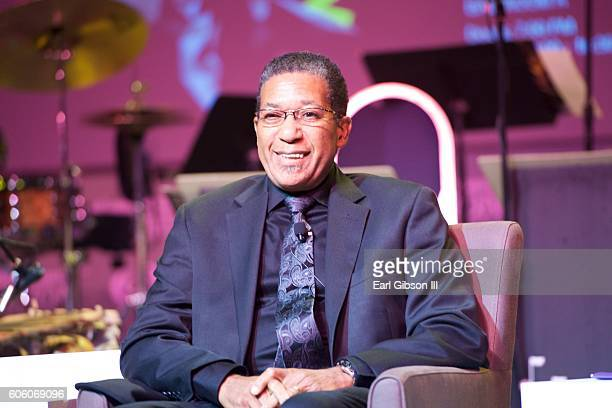 Jazz Drummer Nasar Abadey attends the 31st Anniversary Celebration Jazz Concert at Walter E Washington Convention Center on September 15 2016 in...