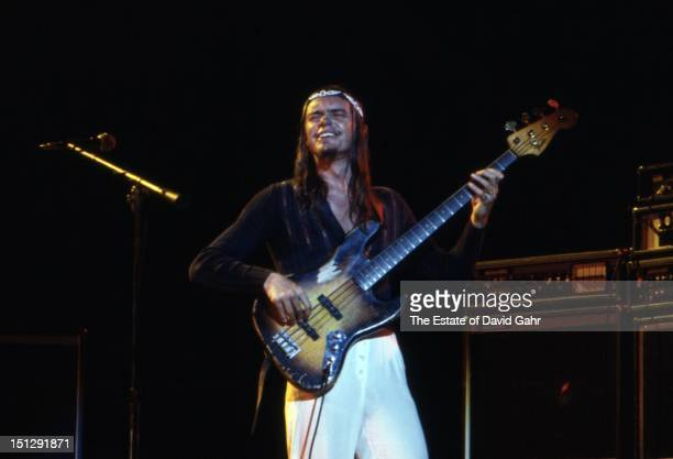 Jazz electric bassist Jaco Pastorius performs at Havana Jam, an historic three-day series of music concerts sponsored by the American music industry...
