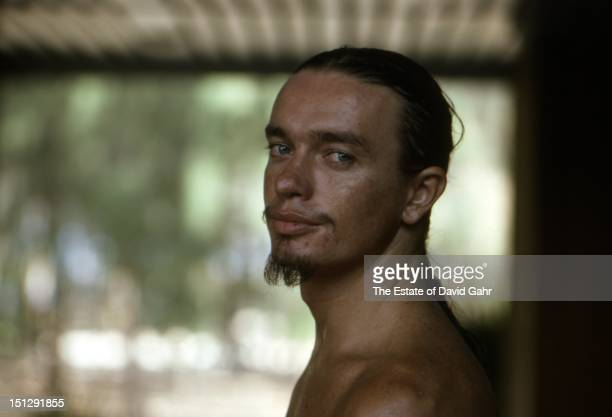 Jazz electric bassist Jaco Pastorius poses for a portrait before performing at Havana Jam, an historic three-day series of music concerts sponsored...