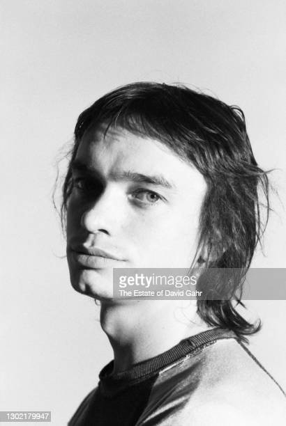 Jazz electric bassist, musician, and composer Jaco Pastorius poses for a portrait during a recording session for singer songwriter Ian Hunter in...