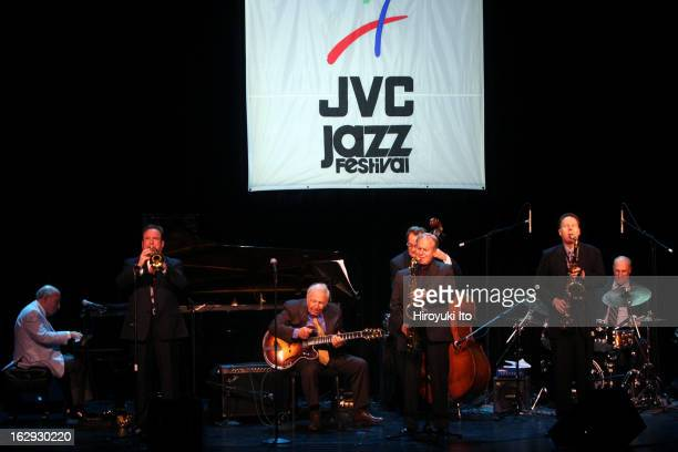 JVC Jazz Festival presents We Remember Ruby A Musical Salute to Ruby Braff at the Kaye Playhouse on Wednesday night June 20 2007This imageFrom left...