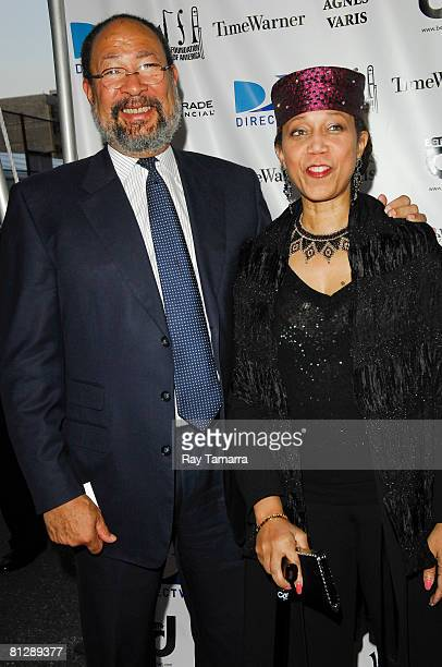 Jazz Foundation Of America Chairman of the Board Dick Parsons and Attallah Shabazz attend the Jazz Foundation Of America's A Great Night In Harlem...