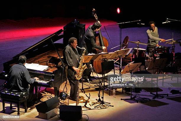 Jazz great Wayne Shorter celebrates his 75th birthday in a concert at the Walt Disney Concert Hall on Dec 10 2008 with his quartet