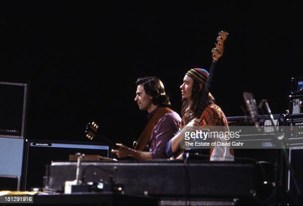 Jazz guitarist John McLaughlin and jazz electric bassist Jaco Pastorius perform at Havana Jam, an historic three-day series of music concerts...