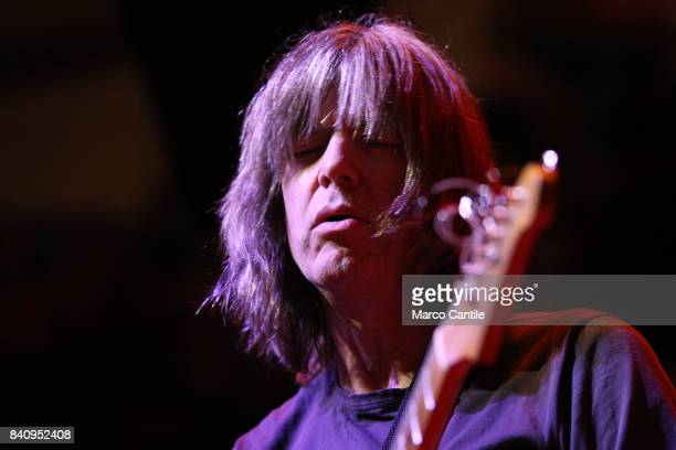Jazz guitarist Mike Stern in concert at Campania Center with Victor Wooten Band