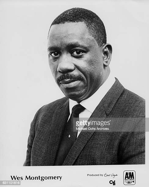 Jazz guitarist Wes Montgomery poses for an AM Records publicty still circa 1967