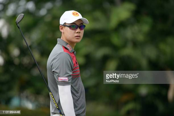 Jazz Janewattananond of Thailand in action on Day Two of the Maybank Championship at Saujana Golf and Country Club on March 22 2019 in Kuala Lumpur...