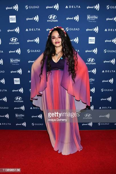Jazz Jennings at the 30th Annual GLAAD Media Awards at The Beverly Hilton Hotel on March 28 2019 in Beverly Hills California