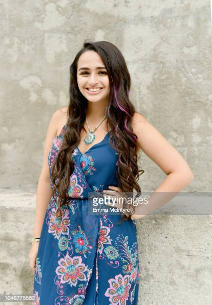Jazz Jennings attends Dove's Launch of Girl Collective The First Ever Dove SelfEsteem Project MegaEvent on October 6 2018 in Los Angeles California