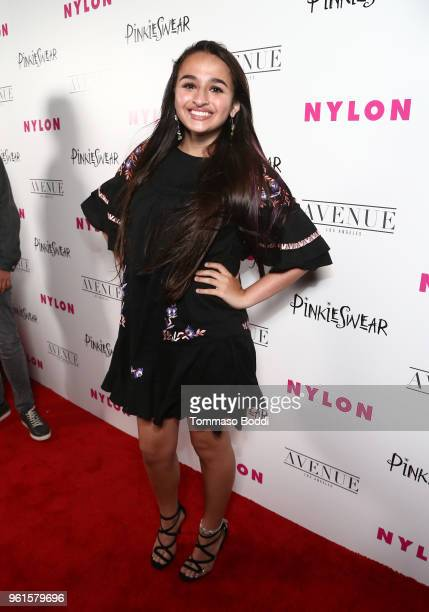 Jazz Jennings attends NYLON's Annual Young Hollywood Party sponsored by Pinkie Swear at Avenue Los Angeles on May 22 2018 in Hollywood California