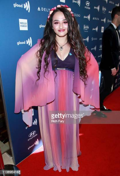 Jazz Jennings attends the 30th Annual GLAAD Media Awards Los Angeles at The Beverly Hilton Hotel on March 28 2019 in Beverly Hills California