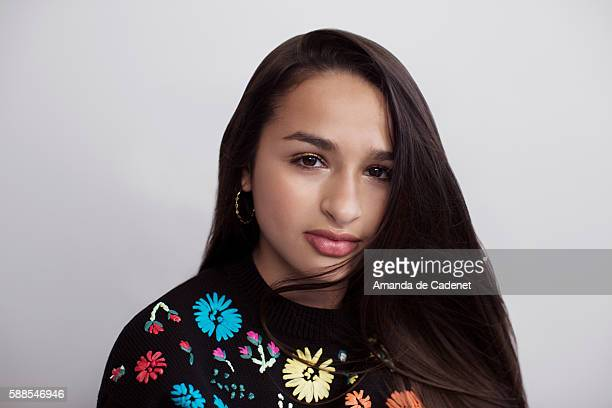 Jazz Jennings for Teen Vogue Magazine on June 16 2016 in Los Angeles California