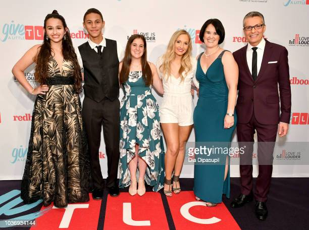 Jazz Jennings Jaylen Arnold Carlee Grossman Jessie Chris Kristen Caminiti and Randy Fenoli attend 2018 TLC's Give A Little Awards on September 20...