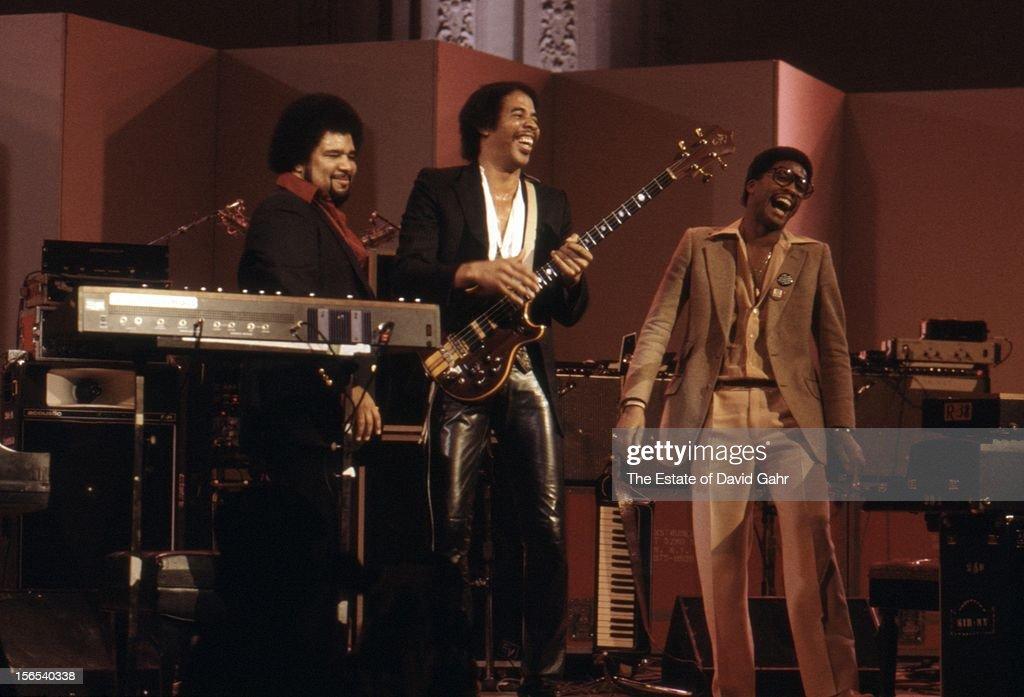 Jazz Keyboardist George Duke Jazz Bassist Stanley Clarke And Jazz