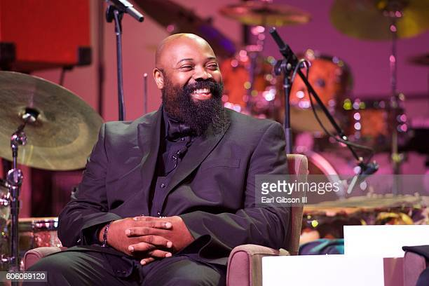 Jazz Musician Allyn Johnson attends the 31st Anniversary Celebration Jazz Concert at Walter E Washington Convention Center on September 15 2016 in...