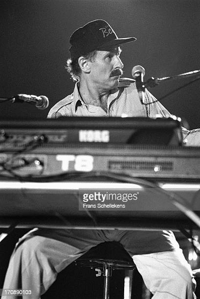 Jazz musician and composer Joe Zawinul performs at the North Sea Jazz Festival in the Hague, the Netherlands on 9th July 1988.