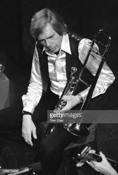Jazz musician Bob Brookmeyer performs at the Great American Music Hall in 1981 in San Francisco, California.