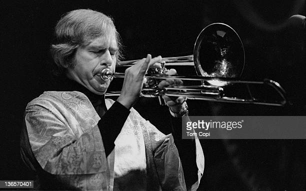 Jazz musician Bob Brookmeyer performs at the Keystone Korner in 1978 in San Francisco, California.