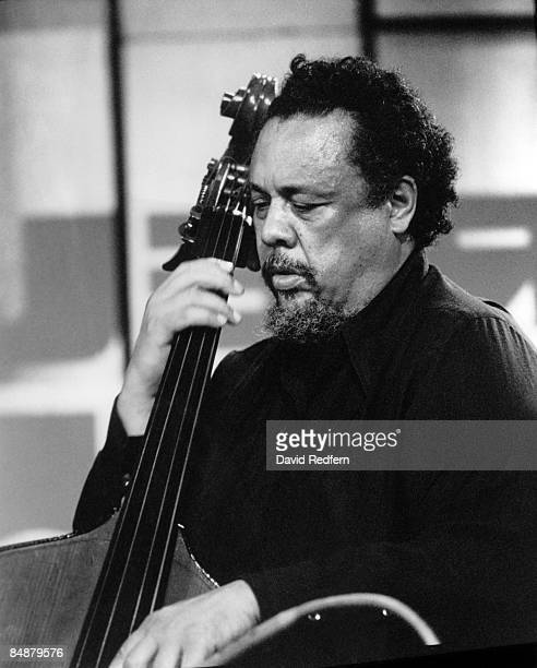 FESTIVAL Jazz musician Charles Mingus Bass player Charlie Mingus performing on stage