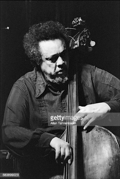 Jazz musician Charles Mingus performs at Bottom Line New York New York December 22 1975