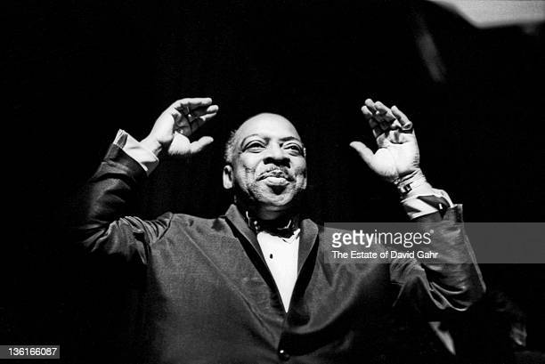 Jazz musician Count Basie performs on New Years Eve on December 31 1963 in New York City New York