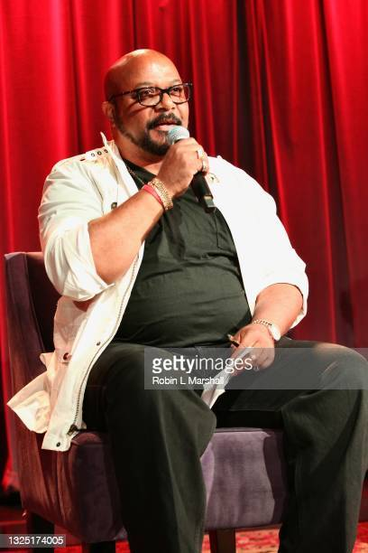 """Jazz Musician Darryl Wakefield attends the Grammy Museum & Musicare """"Truth Serum"""" Screening and Panel Discussion at The GRAMMY Museum on June 23,..."""